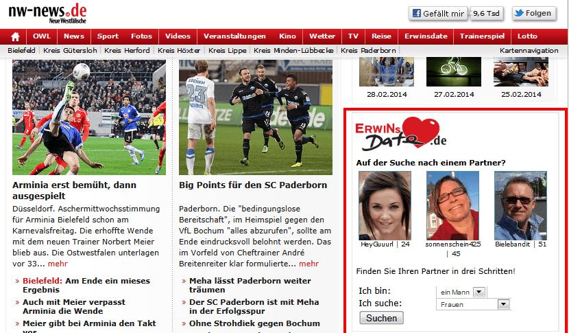 www erwinsdate de
